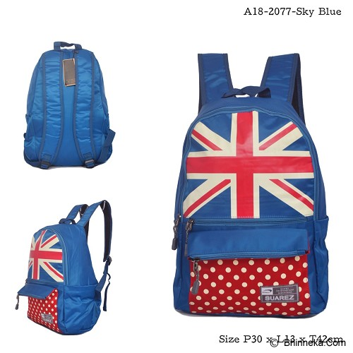 YOUNG SOUL Ransel [A18-2077] - Sky Blue - Backpack Wanita